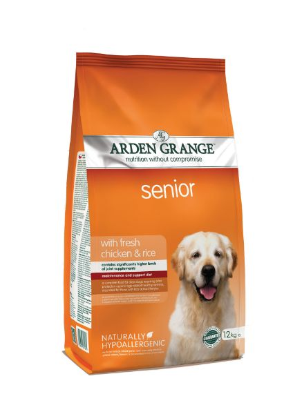 Picture of Arden Grange Dog - Senior Chicken & Rice