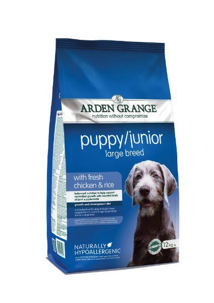 Picture of Arden Grange Puppy - Puppy / Junior Large Breed Fresh Chicken