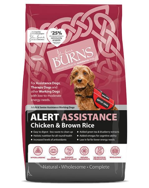 Picture of Burns Dog - Adult Alert Chicken & Brown Rice