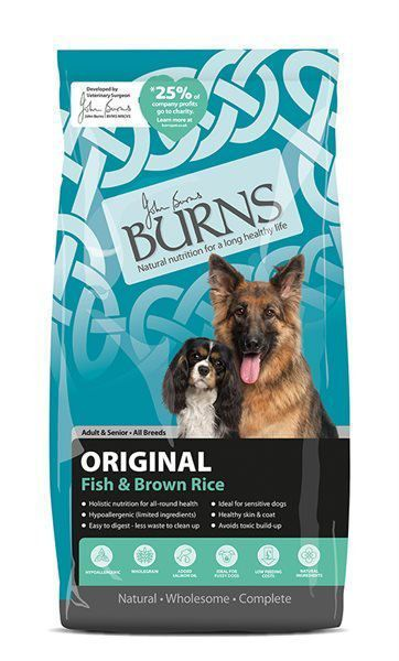Picture of Burns Dog - Adult Fish & Brown Rice