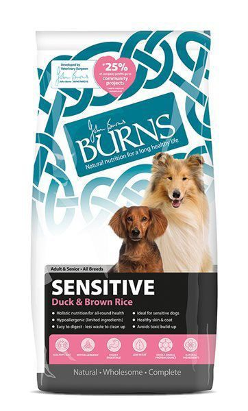 Picture of Burns Dog - Adult Sensitive Duck & Brown Rice