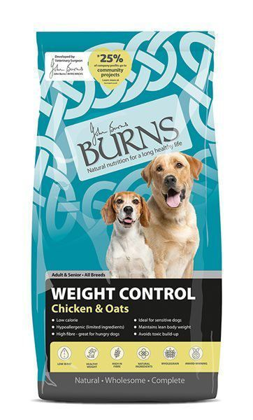 Picture of Burns Dog - Adult Weight Control Chicken & Oats