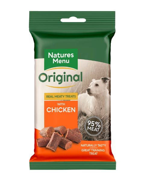 Picture of Natures Menu Dog - Treats Chicken 60g