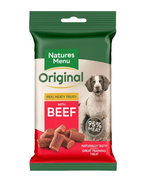 Picture of Natures Menu Dog - Treats Beef 60g