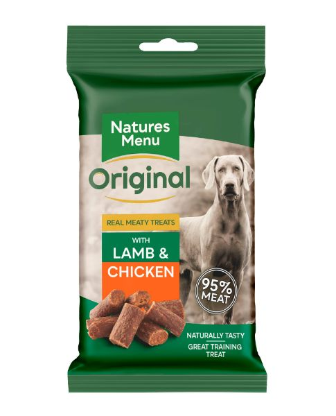 Picture of Natures Menu Dog - Treats Lamb and Chicken 60g