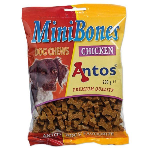 Picture of Antos Dog - Mini Bones Chicken 200g