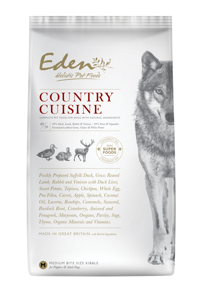 Picture of Eden Dog - 80/20 Country Cuisine Small Kibble