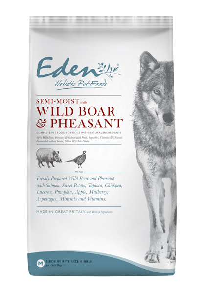 Picture of Eden Dog - Semi-Moist Wild Boar & Pheasant