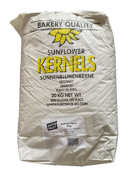 Picture of Sunflower Hearts 20Kg