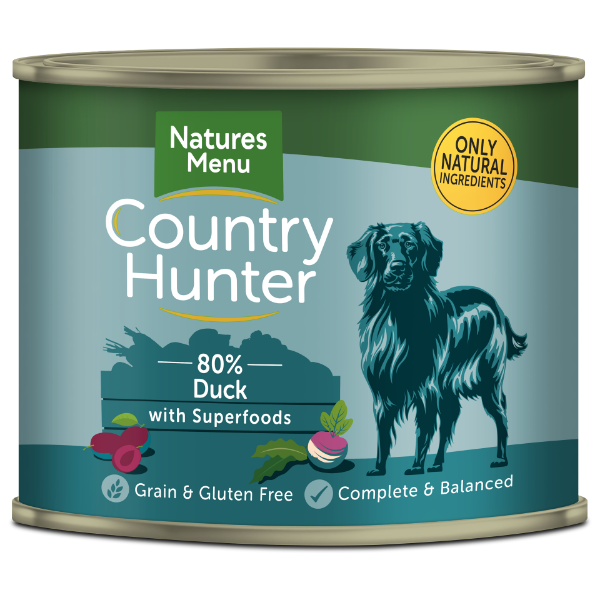 Picture of Natures Menu Dog - Country Hunter Cans Duck & Plum 6x600g
