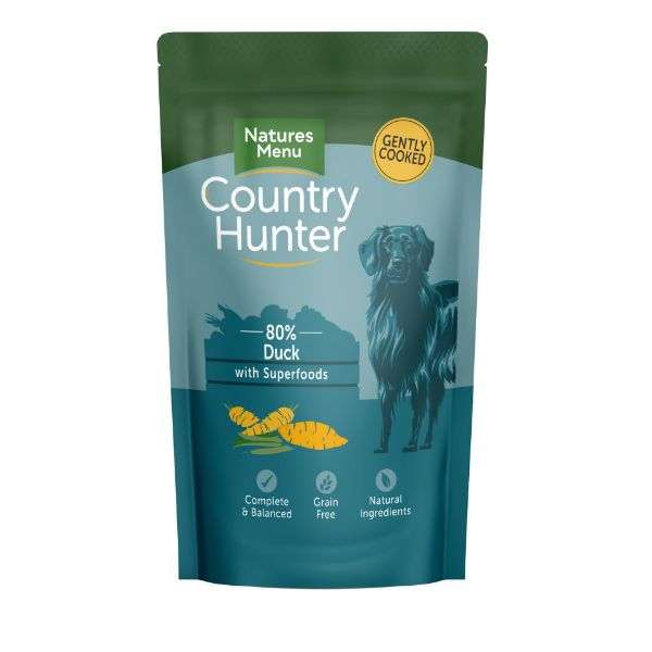 Picture of Natures Menu Dog - Country Hunter Duck with Superfoods Pouch 18x150g
