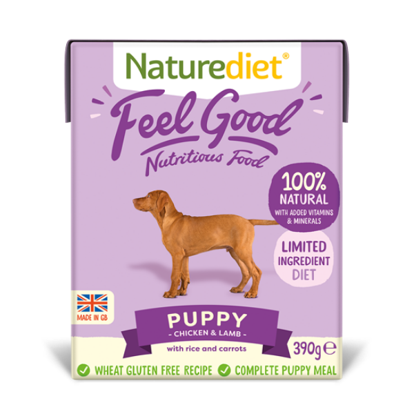 Picture of Nature Diet Puppy - Feel Good Puppy 18x390g