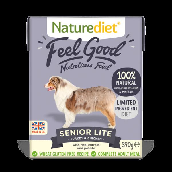 Picture of Nature Diet Dog - Feel Good Senior Lite 18x390g