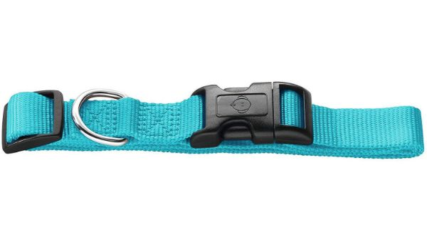 Picture of Hunter Collar Vario Basic Ecco Sport Size XS/10 Nylon Turquoise Without Stop