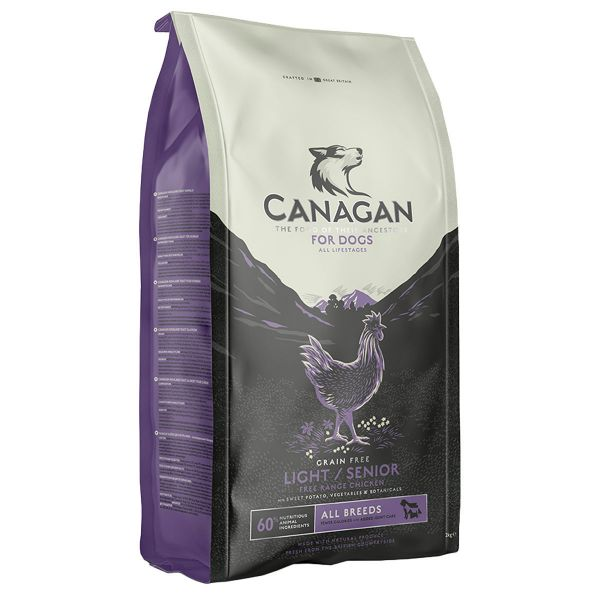 Picture of Canagan Dog - Light / Senior Free Range Chicken 12kg