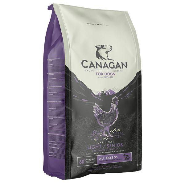 Picture of Canagan Dog - Light / Senior Free Range Chicken 6kg