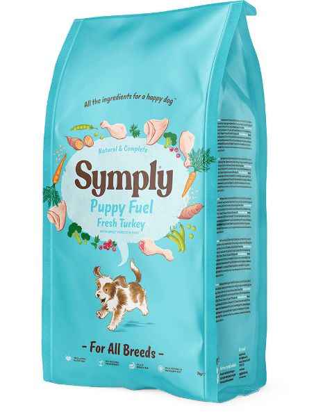 Picture of Symply Dog -  Puppy Fuel Turkey 2kg