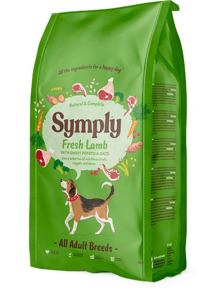 Picture of Symply Dog - Adult Lamb 2kg