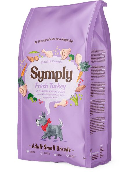 Picture of Symply Dog - Adult Small Breed Turkey 2kg