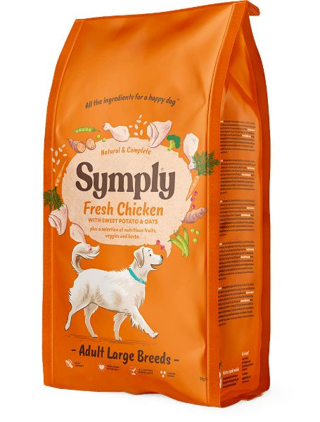 Picture of Symply Dog - Adult Large Breed Chicken 2kg