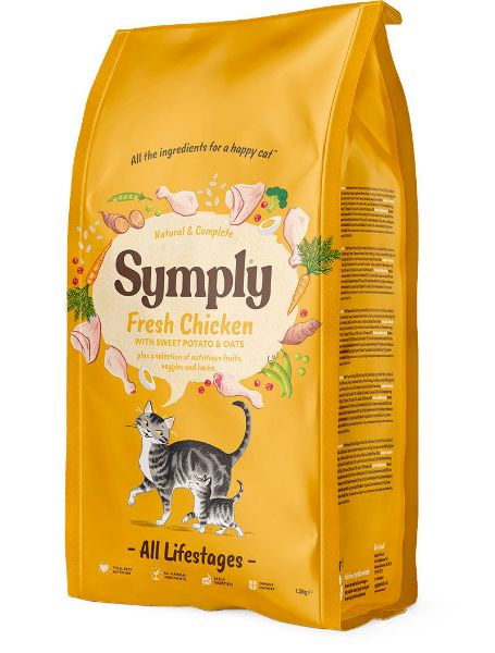Picture of Symply Cat - All Lifestages Fresh Chicken 1.5Kg