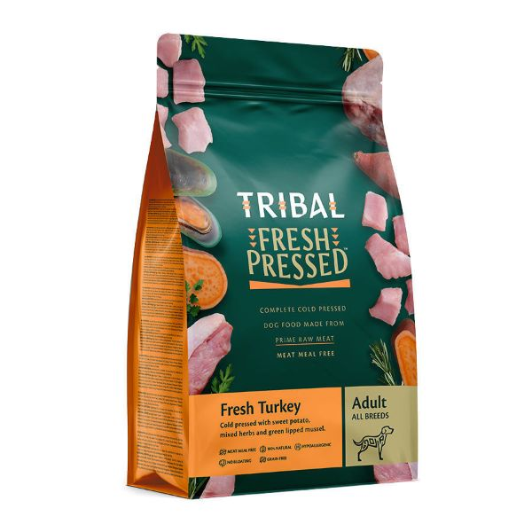 Picture of Tribal Adult Turkey Dry Dog Food 12kg