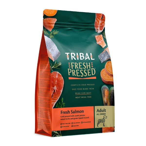 Picture of Tribal Adult Salmon Dry Dog Food 12kg
