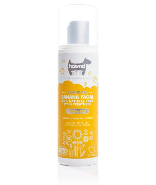 Picture of Hownd Banana Facial & Natural Tear Stain Treatment 250ml