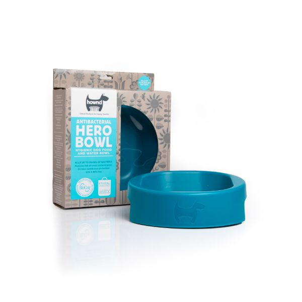 Picture of Hownd Hero Bowl Ocean Blue Large