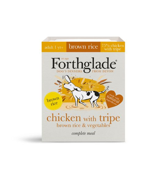 Picture of Forthglade Dog - Adult Complete Chicken With Tripe, Brown Rice & Vegetables 18x395g