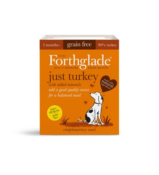 Picture of Forthglade Dog - Adult Just Turkey 18x395g