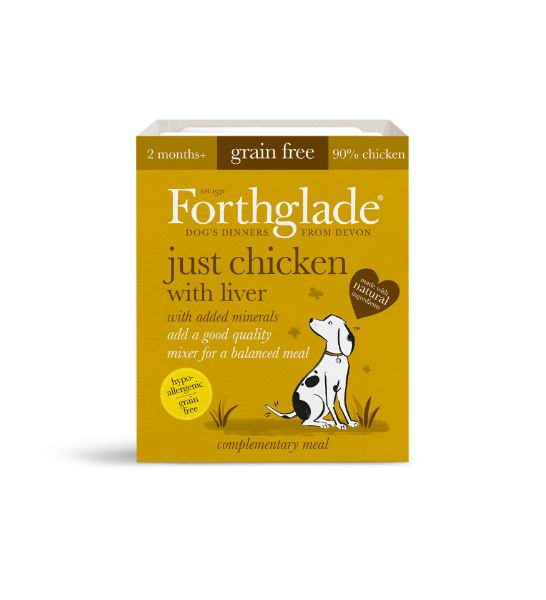 Picture of Forthglade Dog - Adult Just Chicken With Liver 18x395g