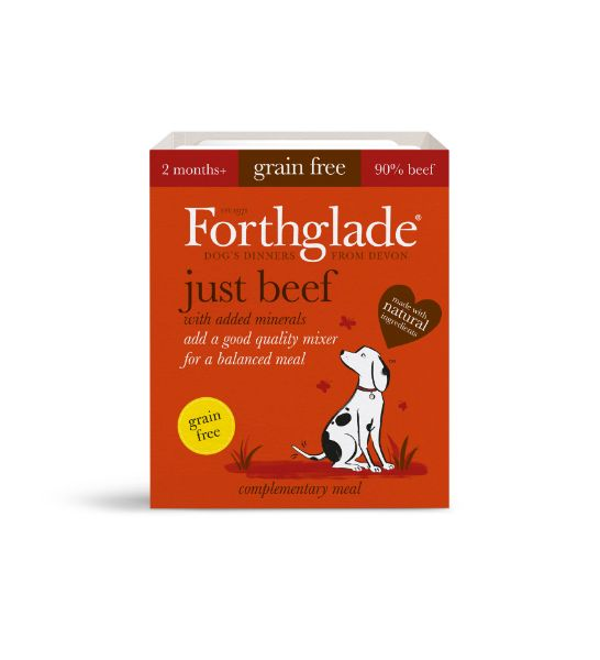 Picture of Forthglade Dog - Adult Just Beef 18x395g