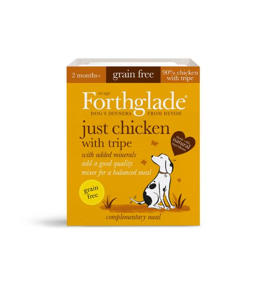 Picture of Forthglade Dog - Adult Just Chicken With Tripe 18x395g