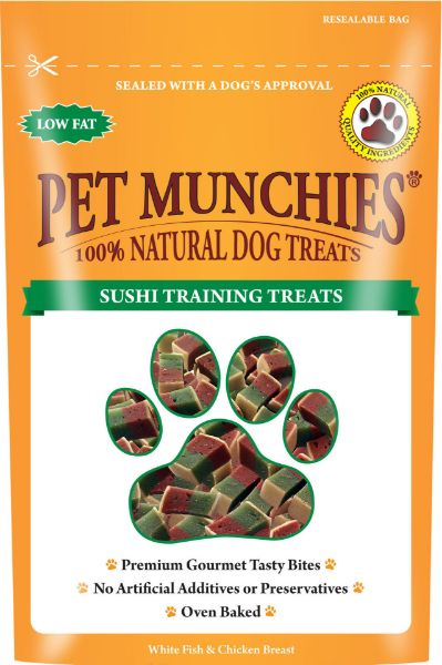 Picture of Pet Munchies Dog Training Treats - Sushi 8x50g
