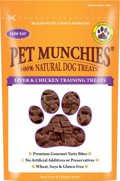 Picture of Pet Munchies Dog Training Treats - Liver & Chicken 8x50g