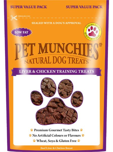 Picture of Pet Munchies Dog Training Treats - Liver & Chicken 8x150g