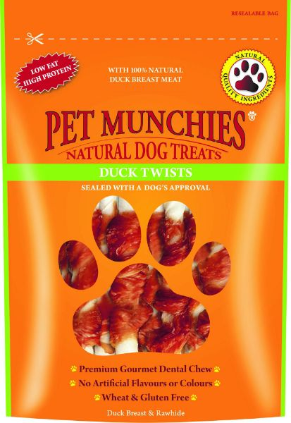 Picture of Pet Munchies Dog Treats - Duck Twists 8x80g