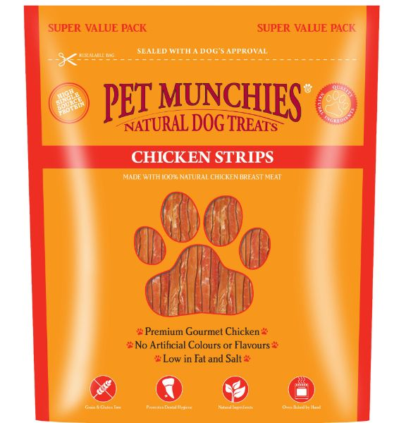 Picture of Pet Munchies Dog Treats - Chicken Strips 3x320g