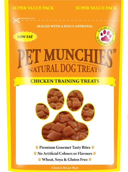 Picture of Pet Munchies Dog Training Treats - Chicken 8x150g