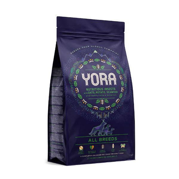 Picture of Yora Dog - Insect Protein All Breeds Dog Food 6kg