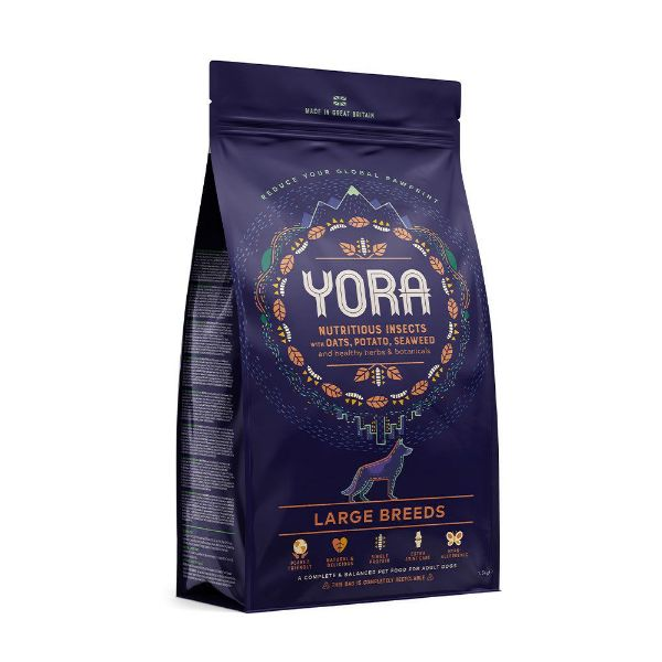 Picture of Yora Dog - Insect Protein Large Breeds Dog Food 12kg