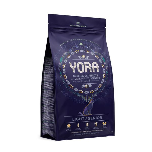 Picture of Yora Dog - Insect Protein Light / Senior Dog Food 12kg