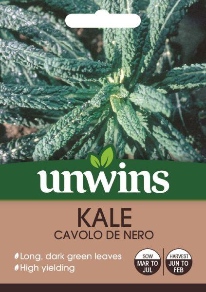 Picture of Unwins Kale Cavolo De Nero Seeds