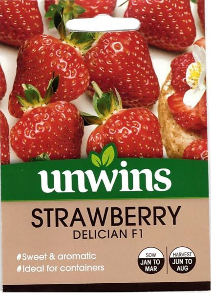 Picture of Unwins Strawberry Delician F1 Seeds