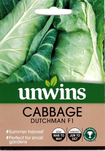 Picture of Unwins Cabbage Dutchman F1 Seeds