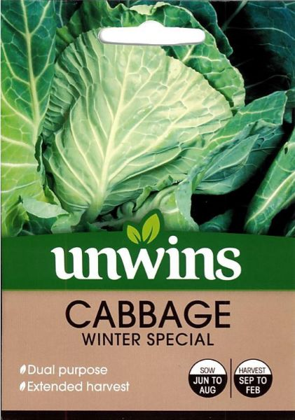 Picture of Unwins Cabbage Winter Special Seeds
