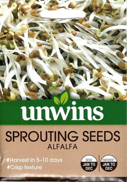 Picture of Unwins Sprouting Seeds Alfalfa Seeds