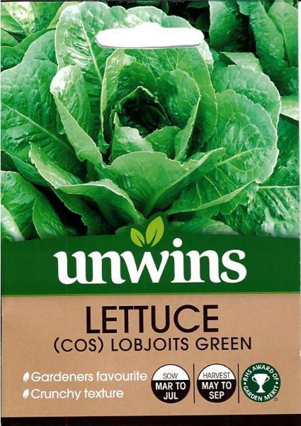 Picture of Unwins Lettuce (Cos) Lobjoits Green Seeds