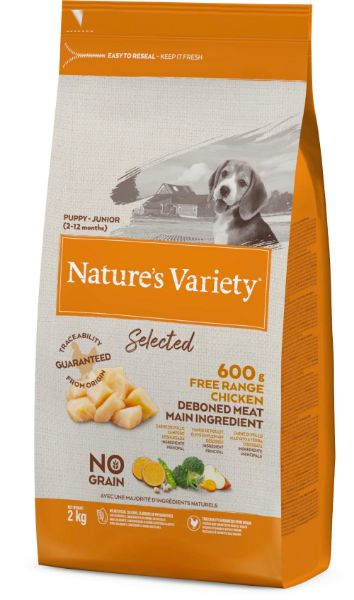 Picture of Natures Variety Dog - Selected Dry Puppy Junior Chicken 2Kg